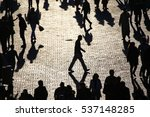 people on the square | Shutterstock . vector #537148285