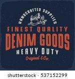 Denim Goods Print For T Shirt...