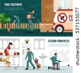 pest control services... | Shutterstock .eps vector #537155077