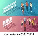 horizontal isometric...   Shutterstock .eps vector #537155134