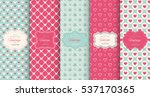 Pink Heart Seamless Pattern...