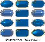 twelve great buttons of the... | Shutterstock . vector #53719633