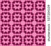 happy valentine's day heart... | Shutterstock .eps vector #537204109