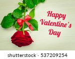 image of valentines day | Shutterstock . vector #537209254