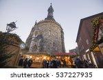 aachen traditional christmas...   Shutterstock . vector #537227935