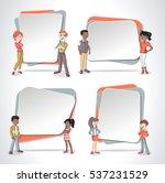 vector banners   backgrounds... | Shutterstock .eps vector #537231529