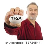 stock photo mature man holds a white nest egg with tfsa tax free savings account popular in canada on it 53724544 Before this law, any district that taught sex education had to teach ...