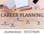 career planning milestones... | Shutterstock . vector #537274645