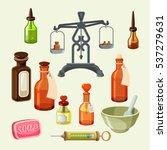 pharmaceutical apothecary... | Shutterstock .eps vector #537279631