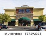 Small photo of Las Vegas - Circa December 2016: Big 5 Sporting Goods Strip Mall Location. Big 5 Sporting Goods is a sporting goods retailer I