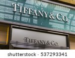 Small photo of Las Vegas - Circa December 2016: Tiffany & Co. Retail Mall Location. Tiffany's is a Luxury Jewelry and Specialty Retailer, Headquartered in New York City IV