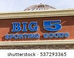 Small photo of Las Vegas - Circa December 2016: Big 5 Sporting Goods Strip Mall Location. Big 5 Sporting Goods is a sporting goods retailer II