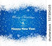 winter background | Shutterstock .eps vector #537304105