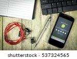 bung kan  thailand   february... | Shutterstock . vector #537324565