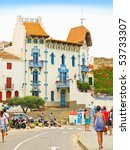 cadaques spain   july 20  the... | Shutterstock . vector #53733307