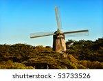 windmill near san francisco lit ... | Shutterstock . vector #53733526