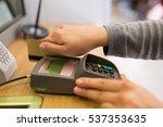 finance  money  technology ... | Shutterstock . vector #537353635