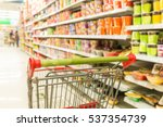 abstract blurred photo of store ... | Shutterstock . vector #537354739