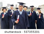 education  graduation and... | Shutterstock . vector #537355201