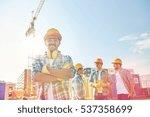 business  building  teamwork... | Shutterstock . vector #537358699