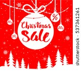 mega sale red card   Shutterstock .eps vector #537361261
