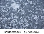 abstract from nature. ice... | Shutterstock . vector #537363061