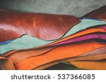 leather craft or working | Shutterstock . vector #537366085