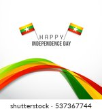 myanmar independence day...   Shutterstock .eps vector #537367744