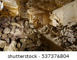 the biggest catacombs in the... | Shutterstock . vector #537376804