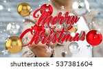 businessman on blurred... | Shutterstock . vector #537381604
