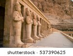 luxor  egypt   november 29 ... | Shutterstock . vector #537390625