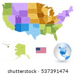 high detail colorful vector...   Shutterstock .eps vector #537391474
