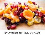 xmas cake mix of soft fruits...