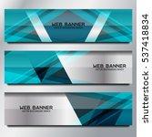 business banner template... | Shutterstock .eps vector #537418834