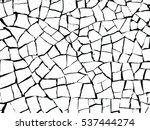 the cracks texture white and... | Shutterstock .eps vector #537444274