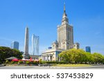Warsaw Palace Of Culture And...