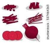 abstract vector illustration... | Shutterstock .eps vector #537464365