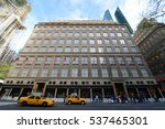 new york city   may 6  2013 ... | Shutterstock . vector #537465301
