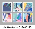 collection of creative... | Shutterstock .eps vector #537469597