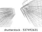 architecture building | Shutterstock .eps vector #537492631