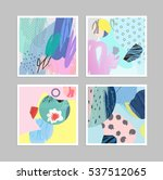 collection of creative... | Shutterstock .eps vector #537512065
