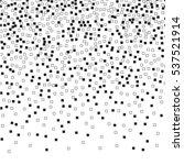 monochrome square pattern. | Shutterstock .eps vector #537521914