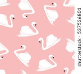 seamless pattern with white... | Shutterstock .eps vector #537526801