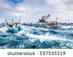 puerto lopez  ecuador   july 31 ...   Shutterstock . vector #537535219