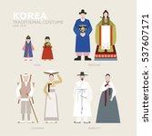 korea traditional identity...   Shutterstock .eps vector #537607171