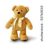 Cute Teddy Bear Walking On...