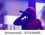 rapper lil wayne attended the... | Shutterstock . vector #537636685