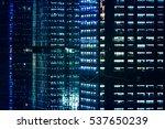 detail shot of skyscrapers in... | Shutterstock . vector #537650239
