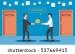 employment service creative...   Shutterstock .eps vector #537669415