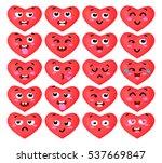 vector illustration of the set...   Shutterstock .eps vector #537669847
